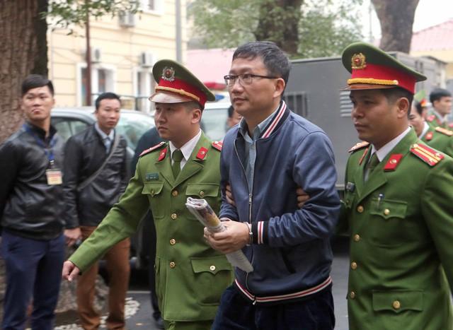 Bị cáo Trịnh Xuân Thanh. (Ảnh: TTXVN)
