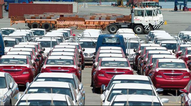 Mỗi tuần, hải quan sẽ công bố hàng loạt thông tin xe nhập.