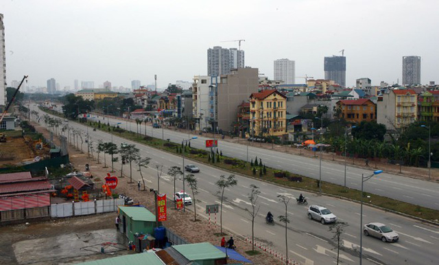 Hà Nội làm 23 km đường từ Hà Đông đi Xuân Mai, có đoạn rộng tới 60m