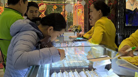 Giá vàng bật tăng phiên giao dịch đầu tuần mới