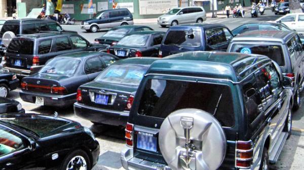 Lượng xe công sẽ giảm mạnh nếu dự thảo chính sách mới được thông qua