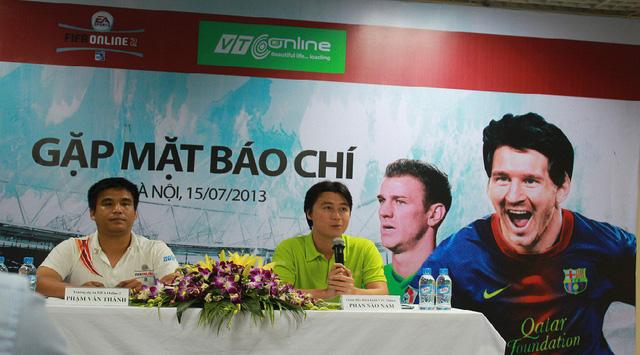VTC Online thời ông Phan Sào Nam (áo xanh) từng đặt tham vọng niêm yết trong 1 trong 5 sàn chứng khoán, trong đó có NASDAQ (Ảnh minh họa)
