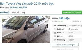 Những chiếc ô tô cũ đang rao bán giá 300 triệu đồng tại Việt Nam