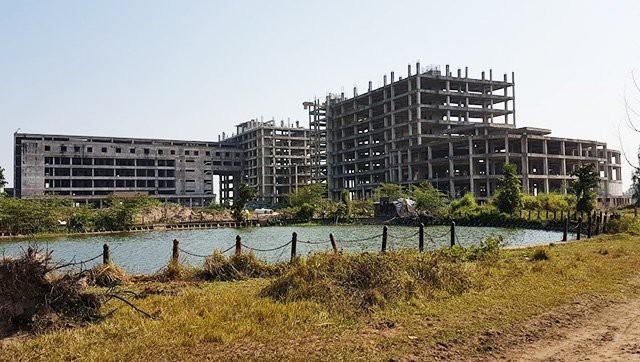 Công trình bệnh viện đa khoa Nam Định (ảnh: báo Nhân Dân)