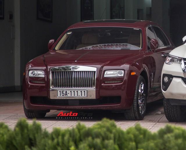Rao bán Roll-Royce Ghost biển ngũ quý 1 giá hơn 11 tỷ đồng