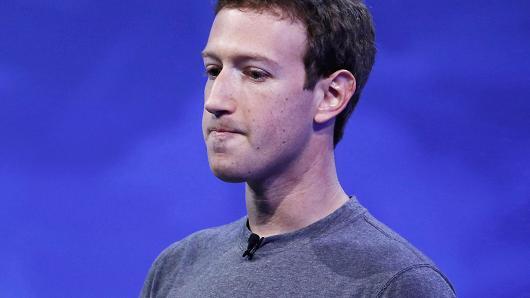 Tỷ phú Mark Zuckerberg mất 9 tỷ USD (tương đương gần 205 nghìn tỷ đồng) trong vòng 48 giờ qua. (Nguồn: CNBC)
