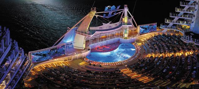 Toàn cảnh chiếc du thuyền lớn nhất thế giới.