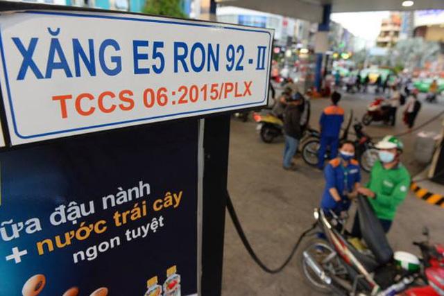 Xăng E5 có thể được hoàn thuế tiêu thụ đặc biệt hàng trăm tỷ đồng