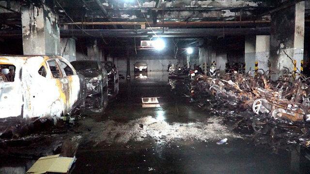 Đề xuất xây nhà để xe tách biệt với khu căn hộ để phòng cháy nổ