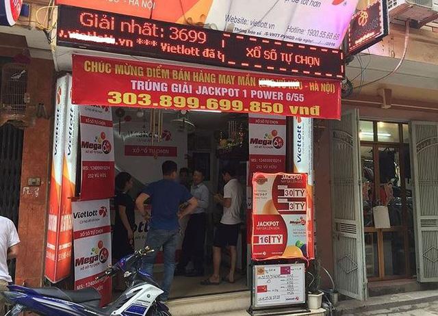 Hé lộ về người trúng giải Vietlott hơn 300 tỷ đồng ở Hà Nội