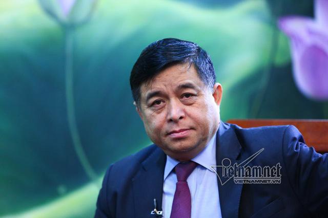 Bộ trưởng Kế hoạch - Đầu tư Nguyễn Chí Dũng