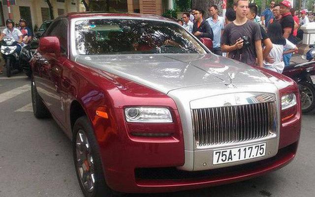 Đại gia Huế chơi Rolls-Royce Ghost biển ngũ quý 1 hơn 11 tỷ đồng