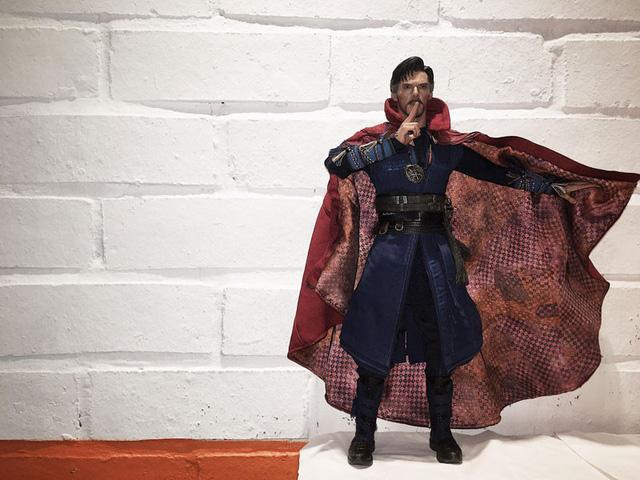 Mô hinh nhân vật Dr Strange mà anh mất nửa năm săn tìm mới mua được