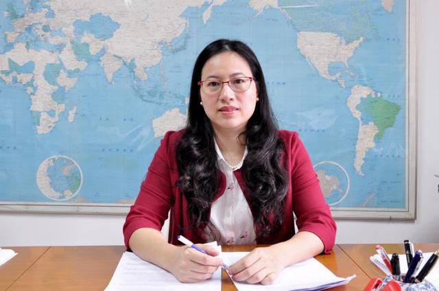 Bà Nguyễn Thanh Hằng, Phó Vụ trưởng Vụ Chính sách thuế.