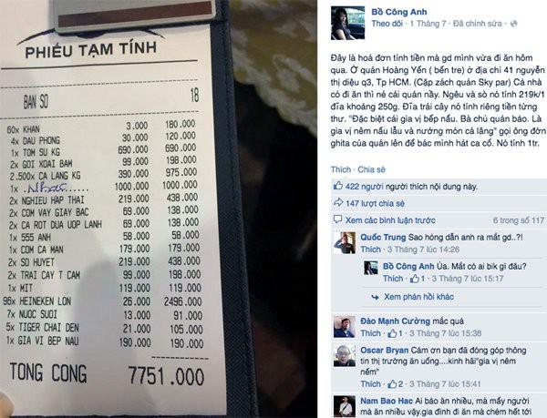Bài viết thu phí ghế ngồi ở Đồ Sơn khiến dân mạng xôn xao
