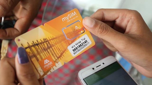 Tại Myanmar, Mytel là mạng di động thứ 4