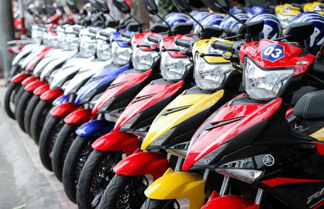 Doanh số bán xe máy tại Việt Nam vẫn tăng trưởng