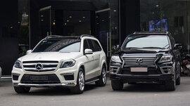Doanh số xe sang giảm liên tiếp, nhường thị trường cho xe giá rẻ