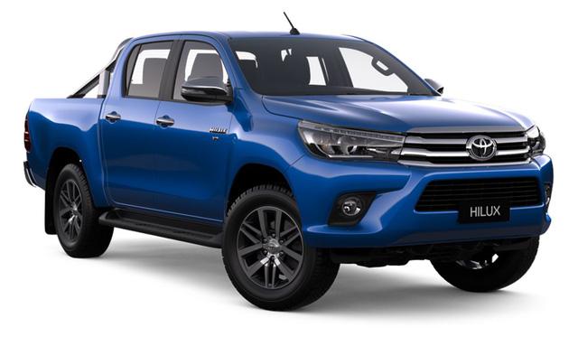 Toyota Hilux cũng tăng giá nhẹ