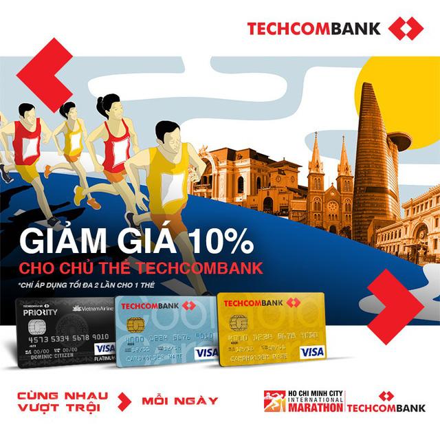 Giải Marathon Quốc tế TP.HCM Techcombank 2018 sẽ tổ chức vào ngày 2/12