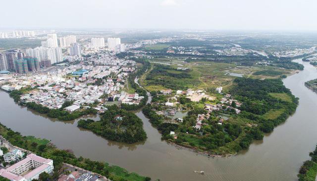 """Dự án Phước Kiển (huyện Nhà Bè) là một trong số các dự án """"lùm xùm"""" nhất của Quốc Cường Gia Lai."""
