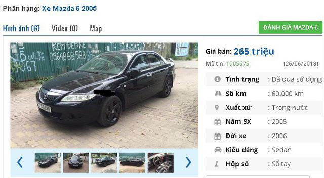 Chiếc Mazda 3 Sport At đời 2004 này được giới thiệu là xe gia đình đi. Chủ nhân hiện đang rao bán xe với giá 299 triệu đồng. Trang bị theo xe được giới thiệu là bao gồm trợ lực tay lái, mâm đúc, nệm bọc da theo xe; gương chiếu hậu chỉnh điện và tự động gập điện; hệ thống điều hòa chỉnh tay hoạt động êm ái, làm lạnh nhanh; giải trí DVD thông minh 7 inchs, AM, FM, hỗ trợ cổng AUX, Bluetooth nghe nhạc, kết nối với điện thoại….
