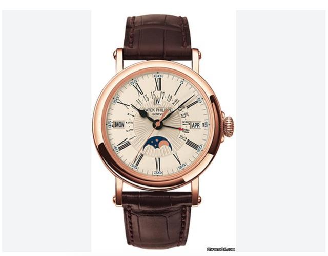 Chiếc đồng hồ Patek Philippe Calendar Perpettula 5159R-001 do ông Phó tổng tập đoàn tư nhân (trong bài viết) đeo trị giá 1,8 tỷ đồng, bị Trịnh Xuân Thanh chê là đồng đồ cho lái xe đeo (Ảnh minh họa)