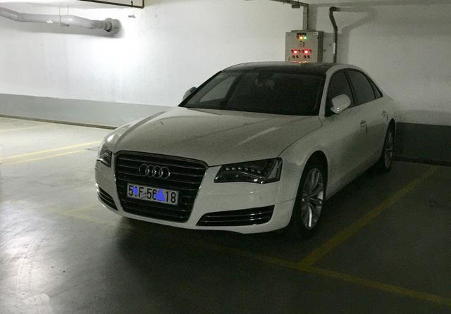 Chiếc xe sang Audi A8