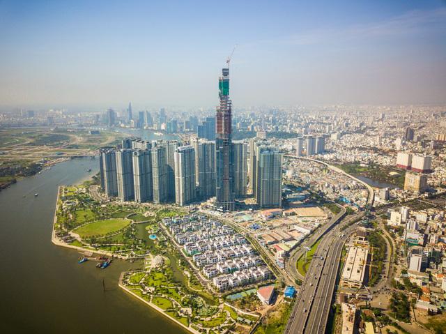 Landmark 81 - toà nhà cao nhất Việt Nam và trong top 10 thế giới về độ cao