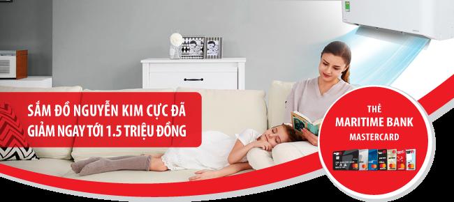 Xem chung kết Cup C1 nhận ưu đãi  khi cùng Maritime Bank sắm đồ tại Nguyễn Kim