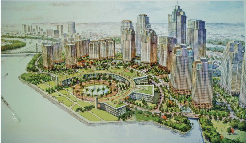 Tân Cảng Sài Gòn thành khu đô thị đa chức năng