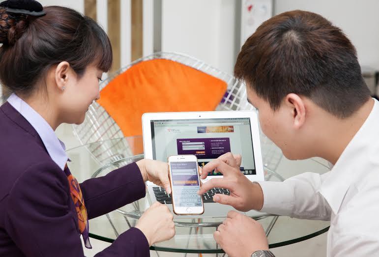Giao dịch ngân hàng trên web: nhanh chóng, thuận tiện