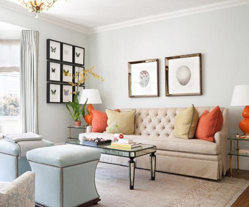 Bí quyết chọn màu sắc cho căn phòng thêm hoàn hảo
