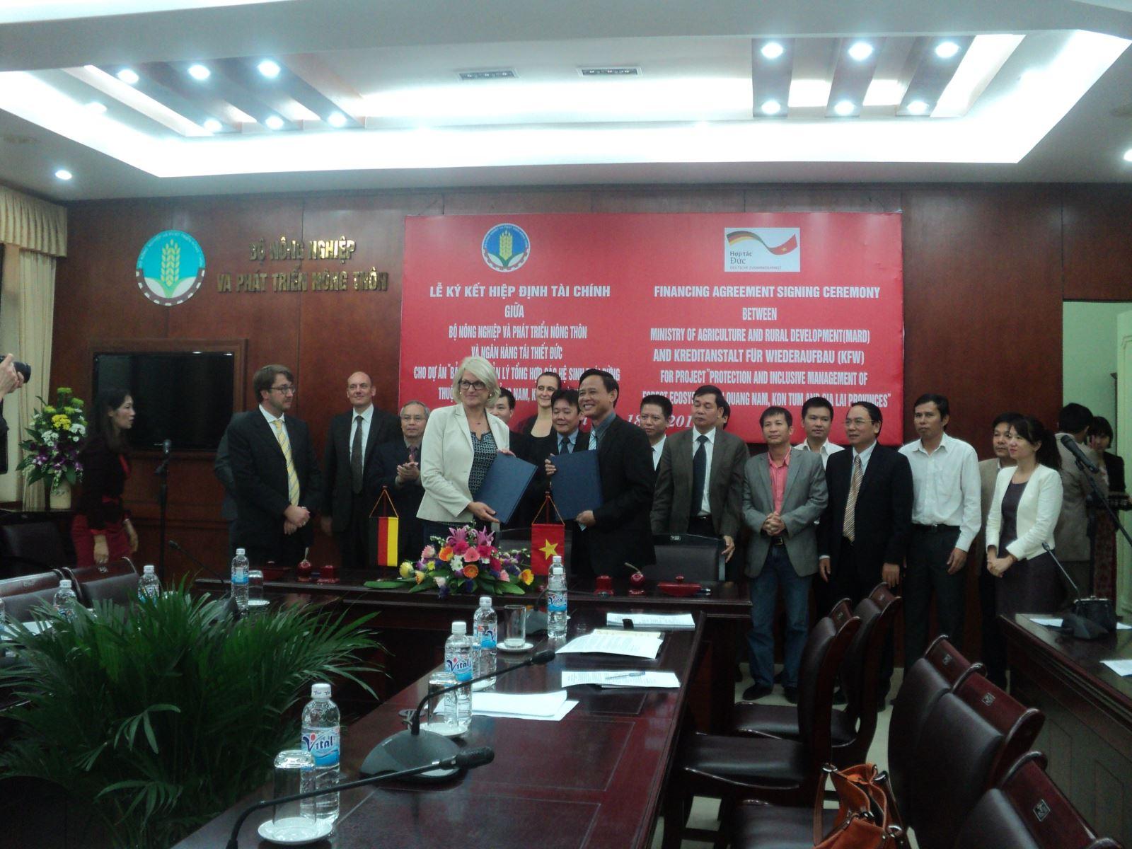 Đức hỗ trợ Việt Nam 11,29 triệu Euro bảo tồn rừng