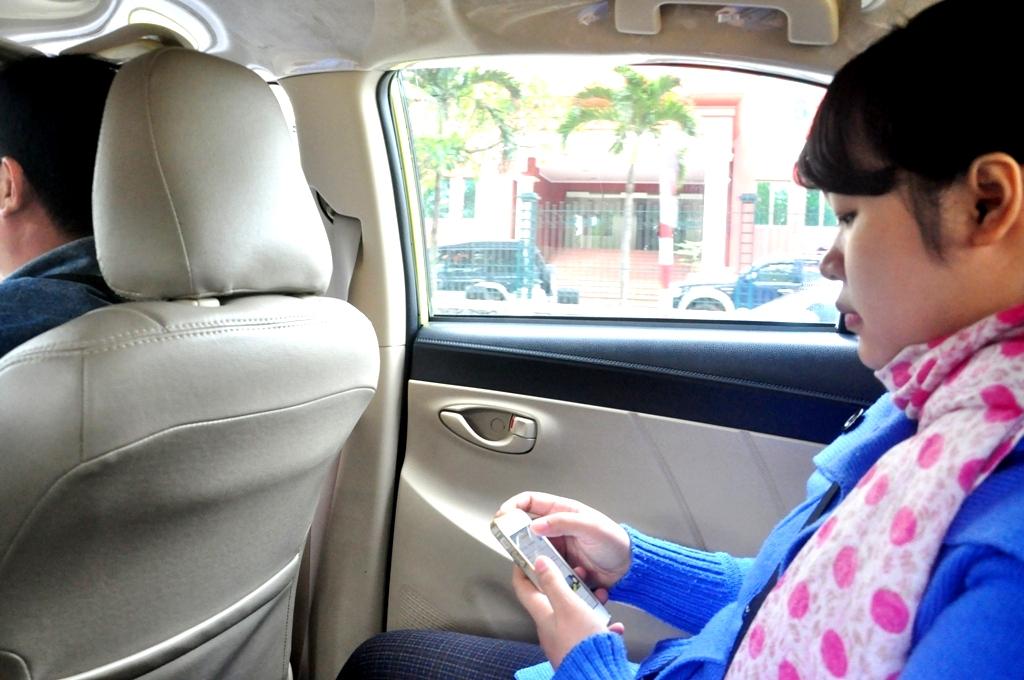 Hãng taxi đầu tiên phục vụ wifi miễn phí trên xe