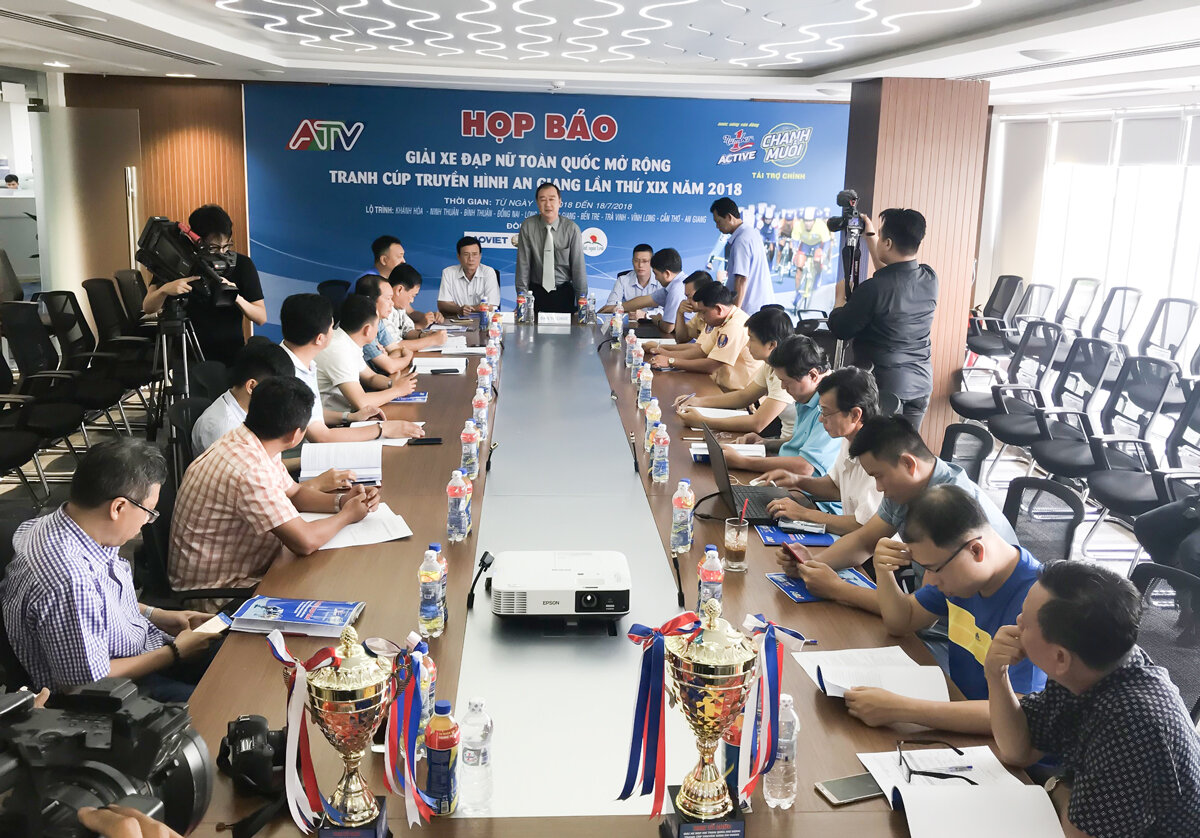 Tân Hiệp Phát tiếp tục là nhà tài trợ chính Giải xe đạp nữ toàn quốc mở rộng lần thứ 19
