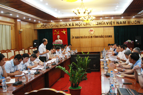 Công bố thanh tra quản lý đất đai và đầu tư xây dựng tại Bắc Giang