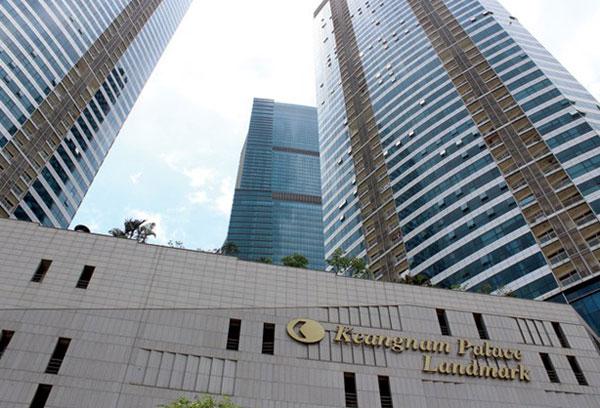 Keangnam và ván bài xây cao ốc chọc trời tại Việt Nam