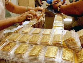 Giá vàng bật tăng mạnh, chênh lệch còn hơn 2 triệu đồng/lượng