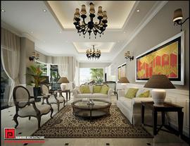 Thiết kế nội thất hài hòa với thiên nhiên tại biệt thự Gamuda Gardens
