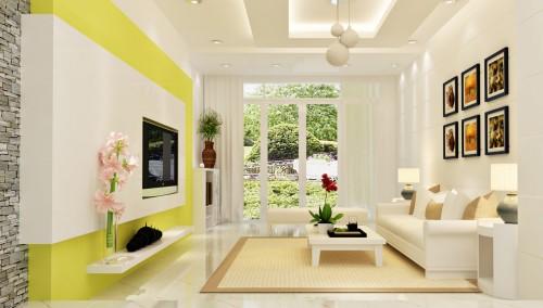 Ảnh hưởng của màu sắc tới hoàn thiện vẻ đẹp ngôi nhà
