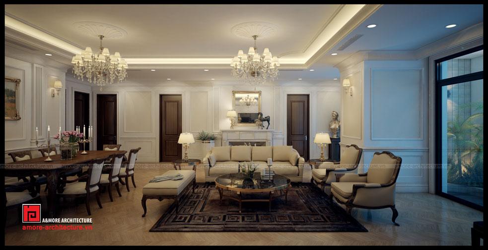 Thiết kế khoa học, đẳng cấp cho căn hộ Vinhomes Royal City R6