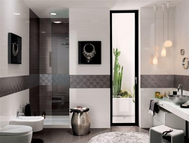 Chọn gạch ốp tường cho phòng tắm