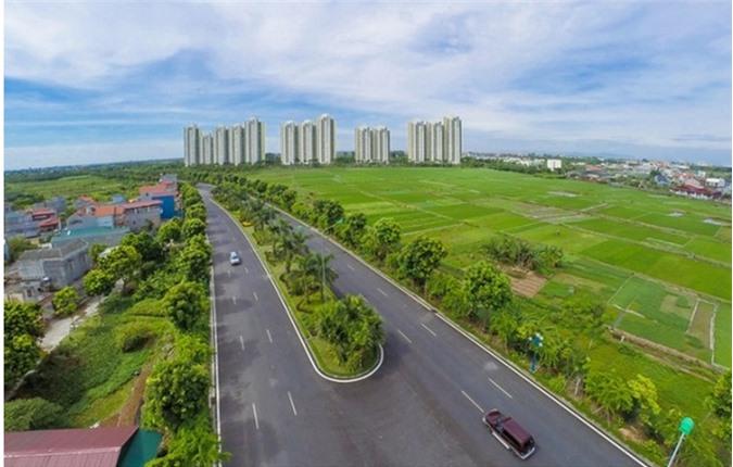 Sắp xây tuyến đường dài 3,2km từ Ecopark đến Kiêu Kỵ, Gia Lâm