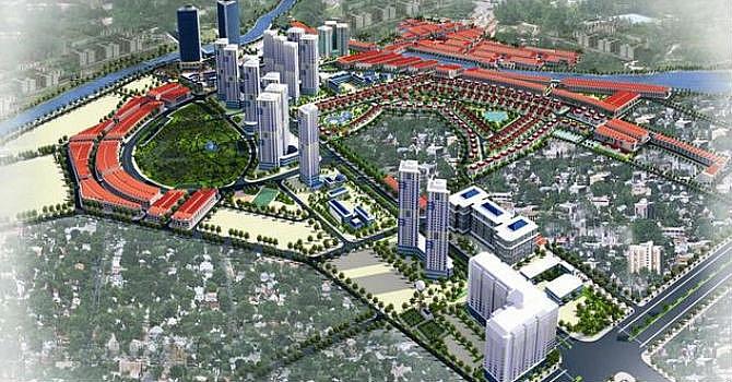Hà Nội sắp có thêm khu đô thị 80.000 dân