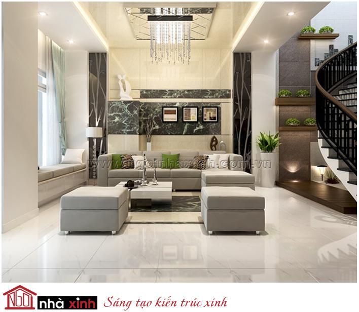 Mẫu thiết kế nội thất phong cách hiện đại, trẻ trung, năng động...