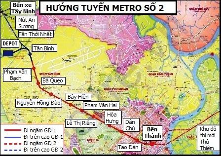 TPHCM muốn vay gần 1,2 tỷ USD đầu tư hạ tầng đô thị