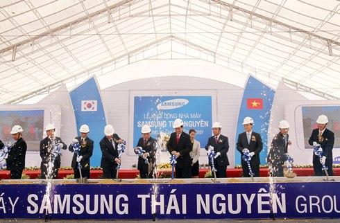Tận dụng lợi thế Samsung, Thái Nguyên thành