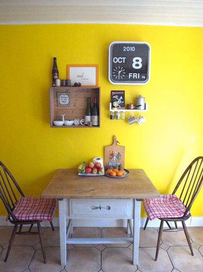 Sắc màu cho phòng ăn thêm đẹp