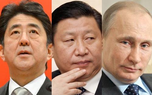 """Trung Quốc, """"kẻ phá bĩnh"""" quan hệ Nhật-Nga?"""